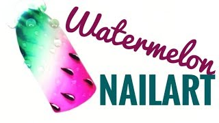 💅💅 Fruit Nails 💅💅 :: Watermelon :: Nailart by Natalia