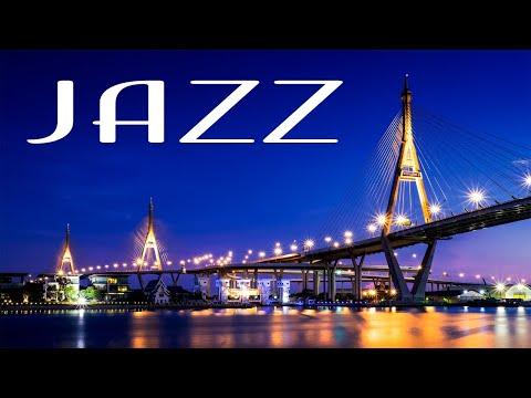 Smooth Jazz In The Night - Relaxing JAZZ &  Lights of Night City - Night Traffic JAZZ