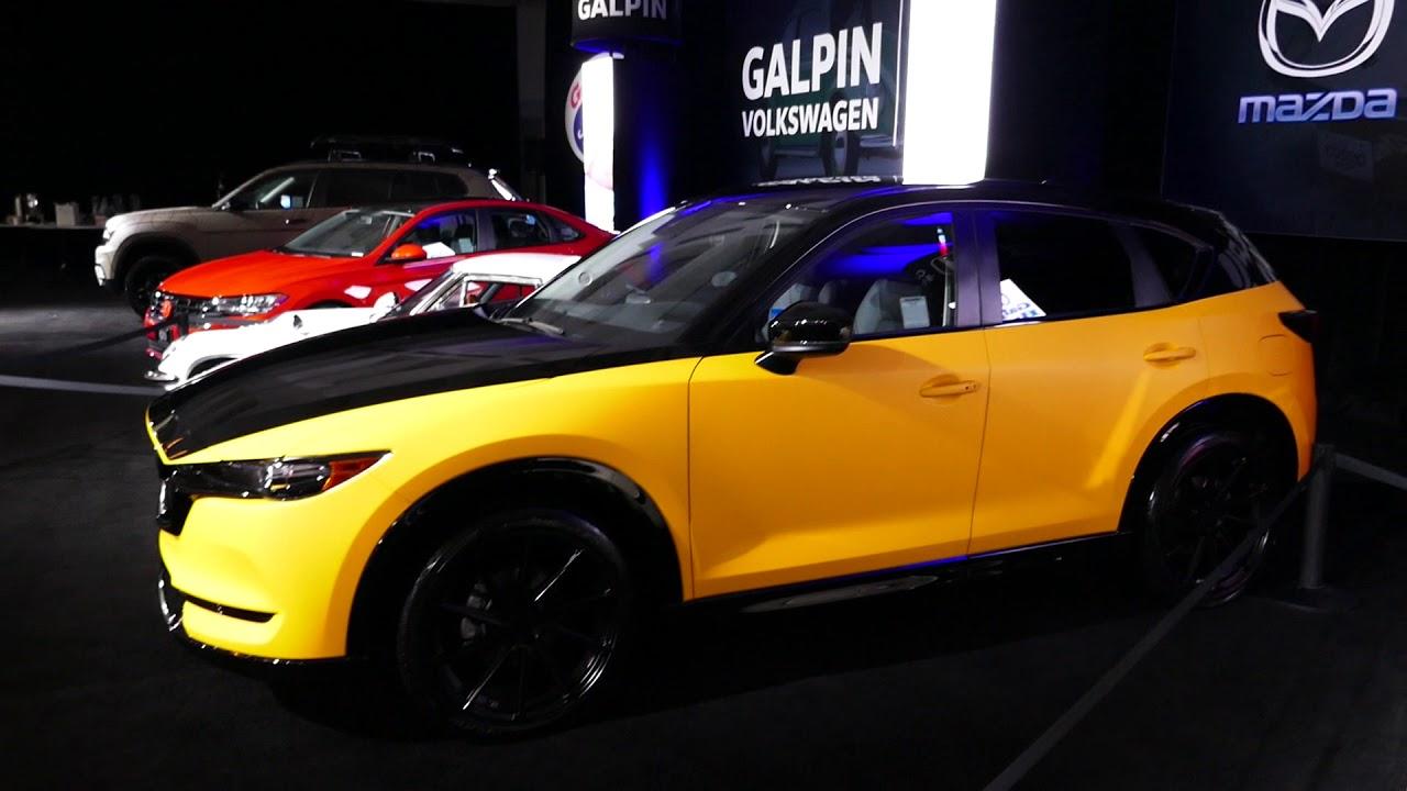 New Custom 2019 Mazda CX-5 SUV - Black & Yellow Paint ...