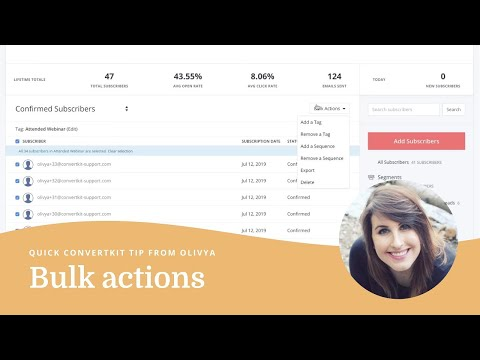 Bulk actions just got a whole lot more useful.