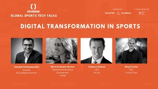 Global Sports Tech Talks #3 Digital Transformation in Sports