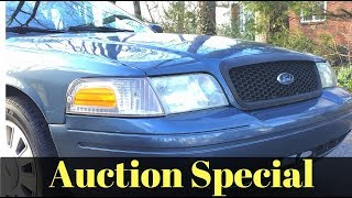 Ford Crown Victoria Police Interceptor P71 Cop Car Auction Buy