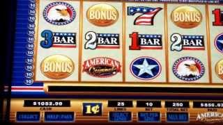 Jackpot Slot win on American Original Twin River Casino