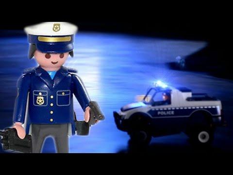👮 POLIZEI NACHTEINSATZ - Spielzeug Spielt Verrückt RC PLAYMOBIL Stop Motion Film deutsch (Trailer)