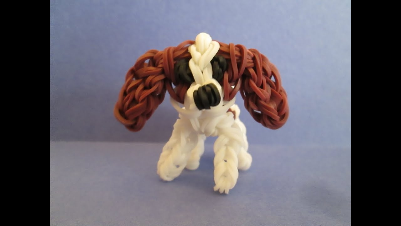 How To Make A Dog With Loom Bands