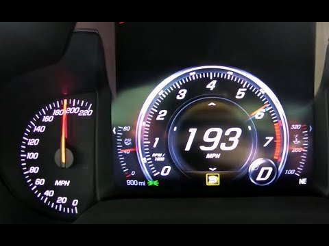 0-194 Mph 2019 ZR1 Corvette Test