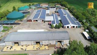 Von der Ernte bis zur Milch -  Einblick in einen Milchvieh- und Ackerbaubetrieb in Sachsen-Anhalt