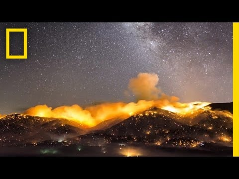 Time-Lapse: The Beauty and Danger of California's Wildfires