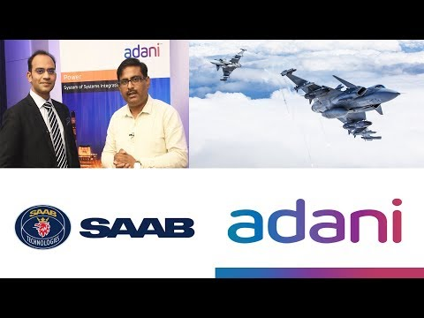 SAAB Partners With Adani Group For Joint Production of Single Engine Fighter Jet Gripen E