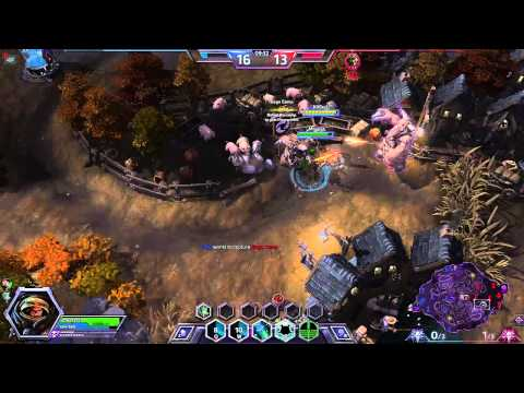 Heroes Of The Storm Raynor Patch Talent revamp Recruitment Mercenary Lord build Game play