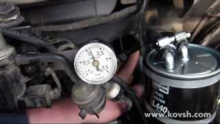 Давление подкачки насоса на VW LT 28 2.8 CDI