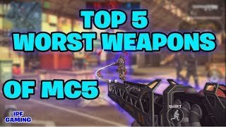 Top 5 Worst Weapons. MC5 Worst Weapons Ever. Modern Combat 5 PC Gam...