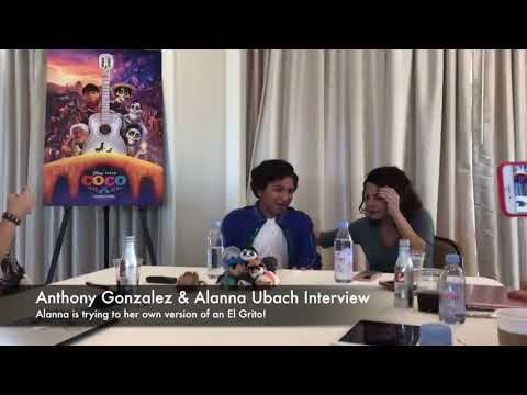 Disney Pixar COCO:  with Anthony Gonzalez & Alanna Ubach