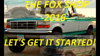 Welcome to 2016 from The Fox Shop!