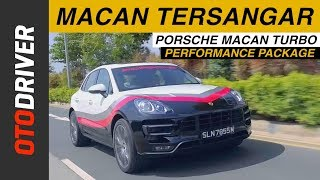 Porsche Macan Turbo PP 2017 | First Drive | OtoDriver