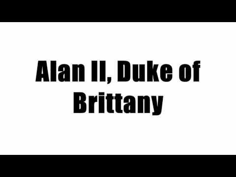 Alan II, Duke of Brittany