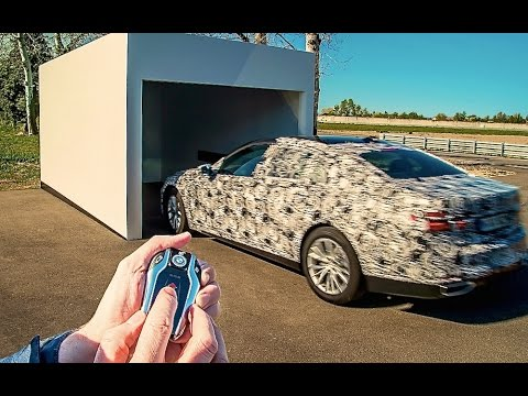 BMW Self Parking Car By Remote BMW 7er 2016 Commercial HD CARJAM TV New BMW 7 Series G11 G12 2016