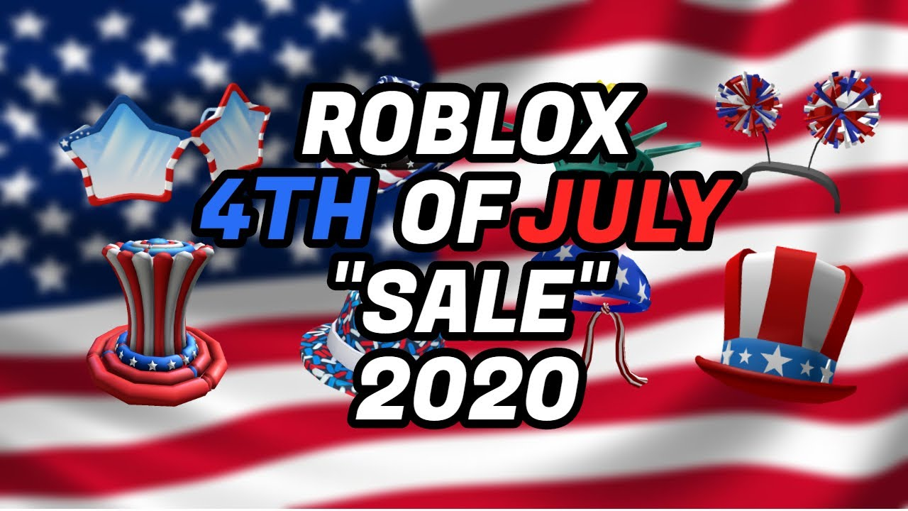 """ROBLOX 4TH OF JULY """"SALE"""" 2020!"""