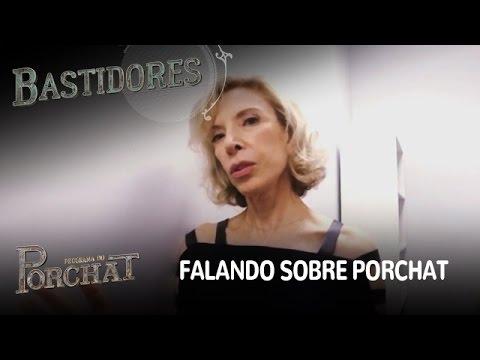 EXCLUSIVO! Marília Gabriela fala o que pensa de Fábio Porchat