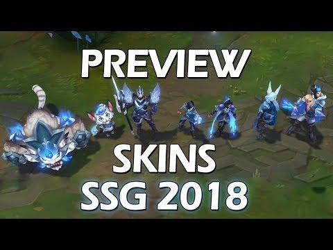 NOVAS SKINS SSG 2018 - PREVIEW SKINS Mp3