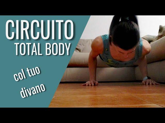 76. CIRCUITO Total body col tuo divano (Antonella)