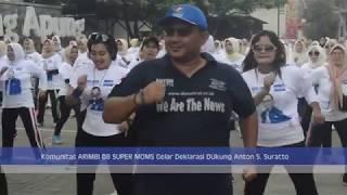 Komunitas ARIMBI 08 SUPER MOMS Gelar Deklarasi Dukung Anton S. Suratto