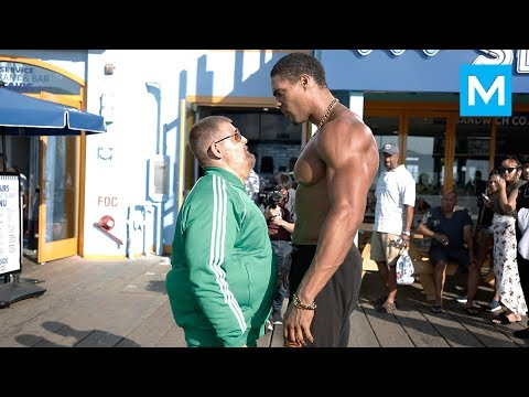 Fat Man VS Bodybuilders (Epic Prank) | Muscle Madness from YouTube · Duration:  9 minutes 17 seconds