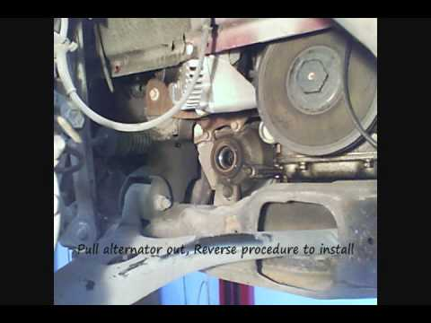 hqdefault ford taurus alternator v6 3 0l replacement using torch? youtube Alternator Wiring Diagram at soozxer.org