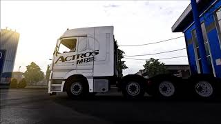ETS Mods v1 34 Mercedes Actros MP3 Reworked v2 7 Euro Truck Simulator 2