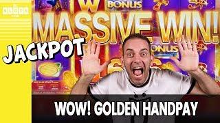 🎇 WOW! Golden Handpay 💰 Huge HUGE Win @ Las Vegas ✪ BCSlots (S. 19 • Ep. 4)