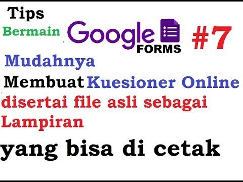 Cara Melihat dan Mendownload Hasil Tanggapan Google Forms