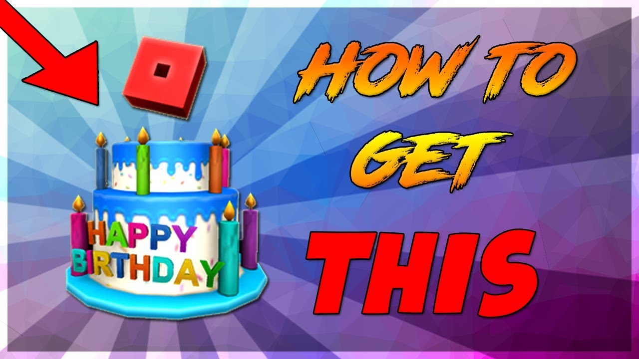 PROMO CODE HOW TO GET 12TH BIRTHDAY CAKE HAT IN ROBLOX