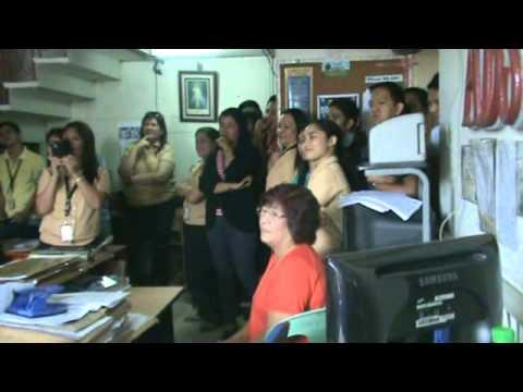 OWOEP SINGING TELEGRAM & DANCING TELEGRAM FOR MRS AU SANTOS / AUG 14 2013
