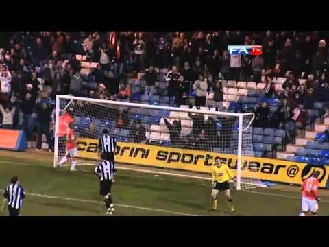 Luton 4-2 Corby - The FA Cup 1st Round Replay - 17/11/10