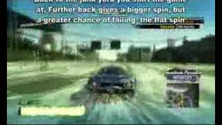 Burnout Paradise Flat spin tutorial 1