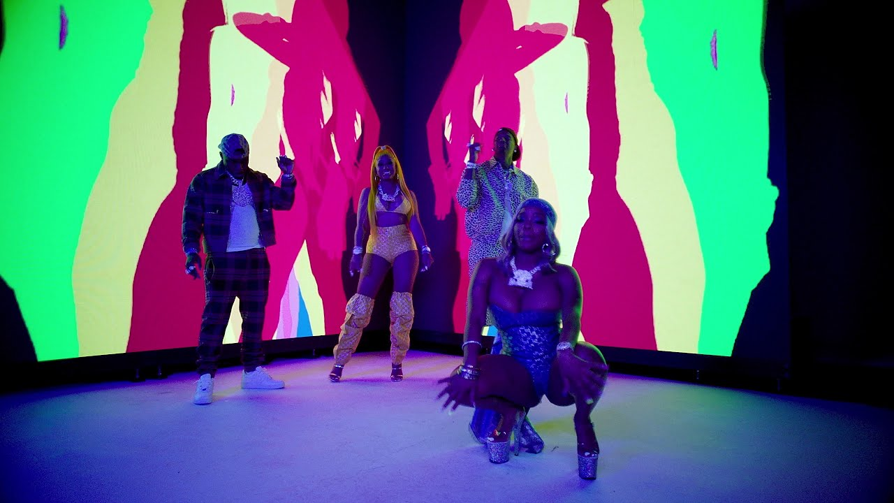 Moneybagg Yo – Said Sum Remix feat. City Girls, DaBaby [Official Music Video]