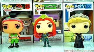 Lodrat Funko Pop! WWE Bayley Unboxing.POP Heroes Aquaman Mera,POP Royals Diana Princess of Wales