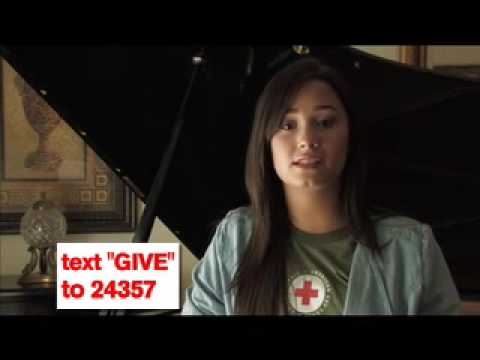 Demi Lovato - American Red Cross - PSA 2 Thumbnail image