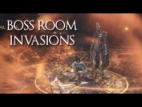 BOSS ROOM INVASIONS (HEALING THE BOSS)