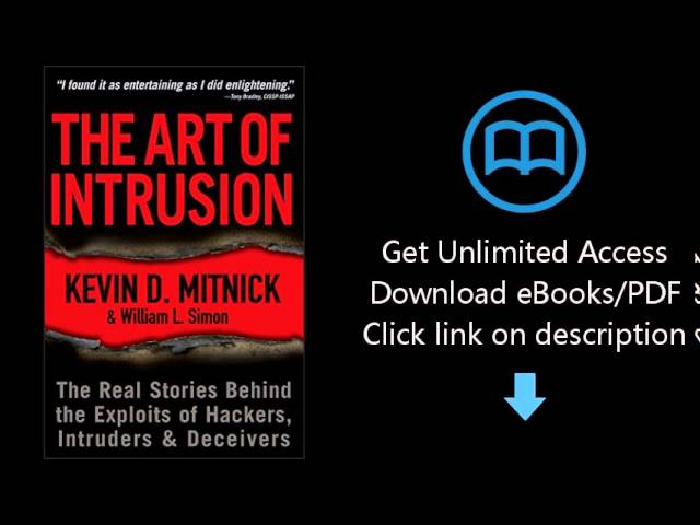 Kevin Mitnick The Art Of Intrusion Pdf