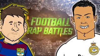 Messi vs Ronaldo RAP BATTLE! (El Clasico 2016 Preview, Barcelona vs Real Madrid) thumbnail