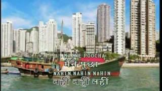 maine pucha chaand se magic sing Hindi Karaoke music sung by IP of Beyond Computers,Chandigarh