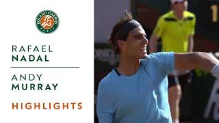 Rafael Nadal v Andy Murray Highlights - Men's Semi Final 2014 - Roland-Garros
