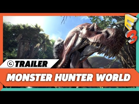 Monster Hunter World Reveal Trailer | E3 2017 Sony Press Conference