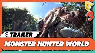 Monster Hunter World Reveal Trailer | E3 2017 Sony Press Conference