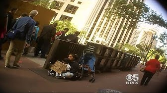 For Some BART Panhandlers,Begging Is Their Job