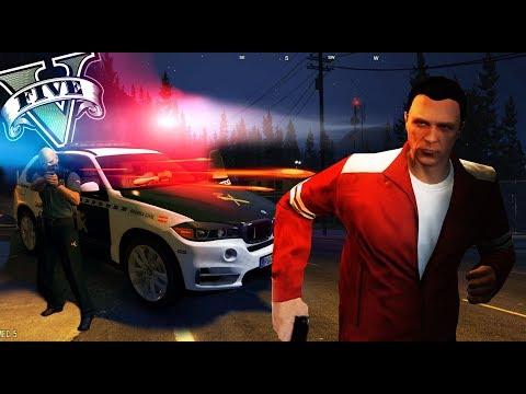 GTA V LIFE - LA POLICÍA MAS MONGOLA XDDD - Nexxuz