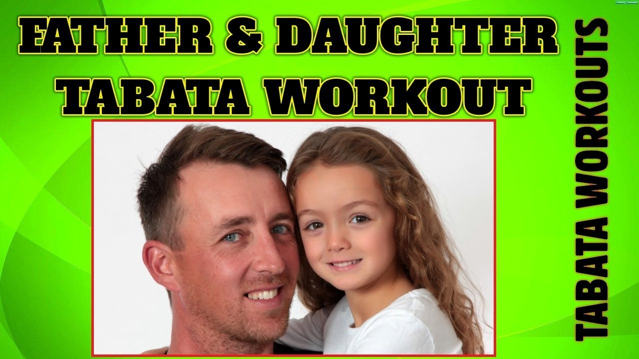 Father and Daughter Tabata Workout Crossfit ❤️ Tabata Workouts