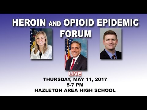 HEROIN AND OPIOID FORUM - LIVE FROM HAZLETON AREA HIGH SCHOOL