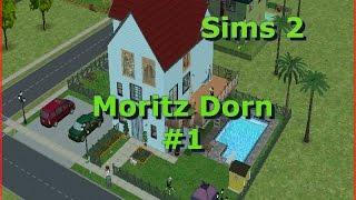 Die Sims 2 - Let´s Play - Dorn Moritz #1 - Ein Pinguin zu Besuch – (Deutsch)